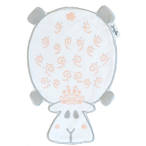 """Dribble Droolers"" Burp Cloth Sadie the Sheep - eClick Shopping Express"