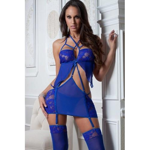 3pc Cage Dress & Stockings