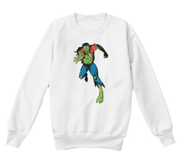 Dr. Frankenstein's Monster Youth Crewneck Sweatshirt