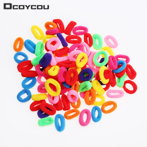 200 Pcs Colorful Child Kids Hair Holders Cute Rubber Ha - eClick Shopping Express