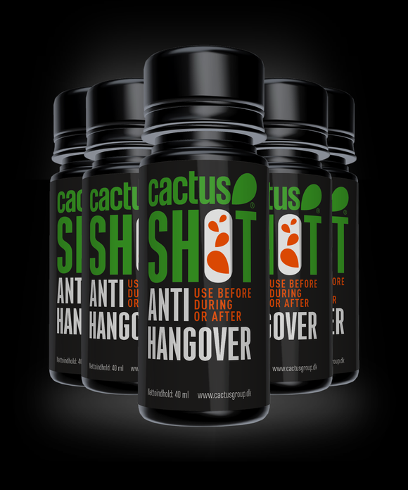 Buy 4 Get 5! | Cactus Anti Hangover Shot