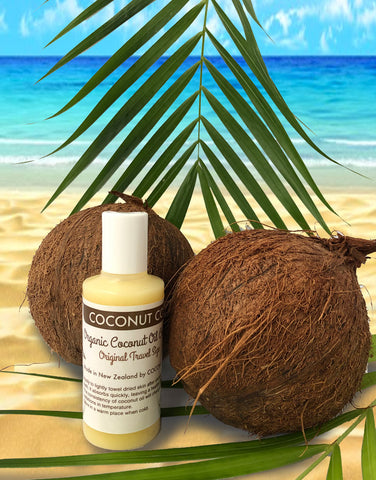 Coconut Co. Organic Coconut Oil -Travel Original Coconut 100 ml - Coconut Co.