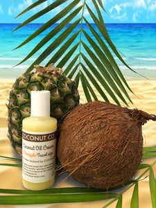Coconut Co. Organic Coconut Oil Travel size - Pineapple 100ml - Coconut Co.