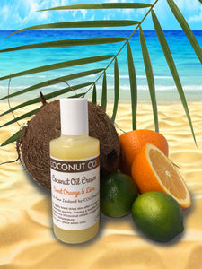Coconut Co. Organic Coconut Oil Travel - Sweet Orange & Lime 100ml - Coconut Co.