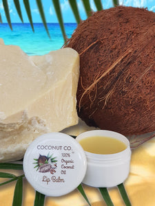 Coconut Co. Organic New Zealand  Lip Balm - Cacao butter & Argon oil 15ml - Coconut Co.