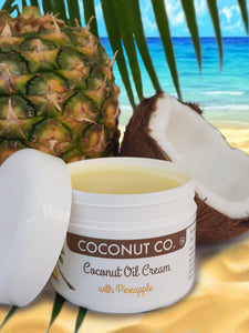 Coconut Co. Organic Coconut Oil Cream - Pineapple 200ml - Coconut Co.