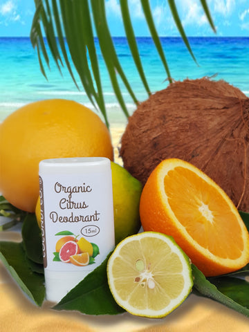 Coconut Co. Organic Deodorant - Citrus 15ml - Coconut Co.