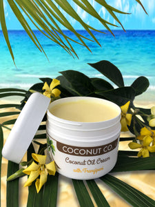 Coconut Co. Organic Coconut Oil Cream - Frangipani 200ml - Coconut Co.