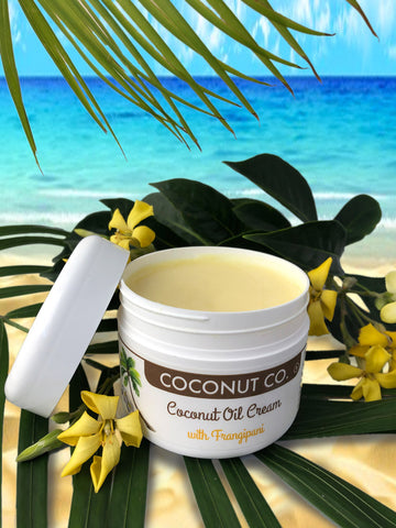 Cream Frangipani 200ml - Coconut Co.