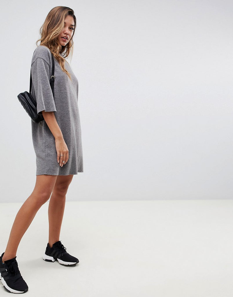 Super soft oversized t-shirt dress