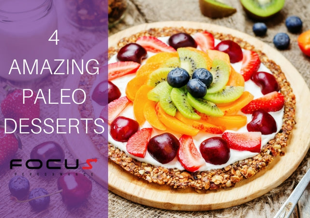 4 Amazing Paleo Desserts That Will Help You Lose Weight Without Feeling Guilty