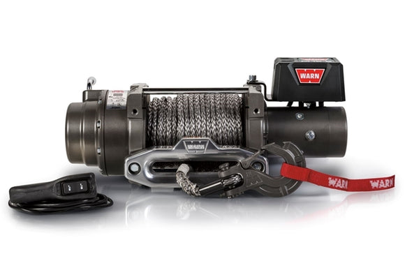 WARN M15-S 12V Winch  - Synthetic Rope
