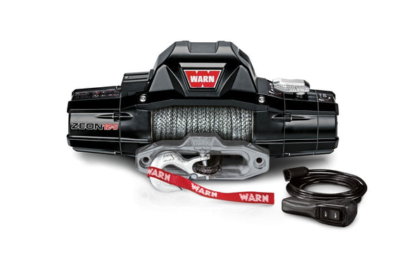 WARN  ZEON 12-S 12V Winch  - Synthetic Rope