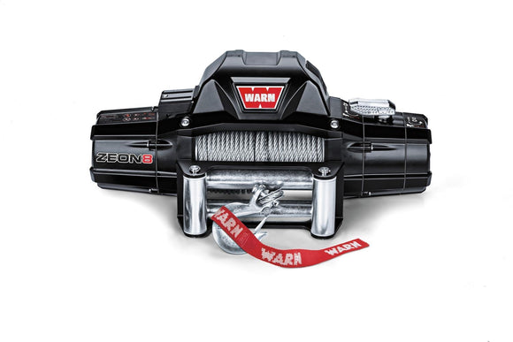 WARN  ZEON 8 12V Winch  - Wire Rope