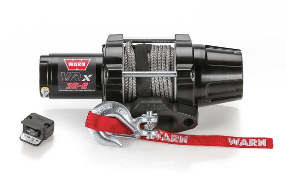WARN VRX 35-S 12V ATV Winch- Synthetic Rope