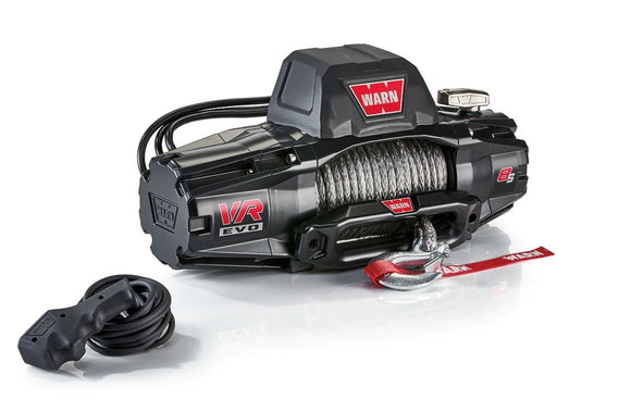 WARN VR EVO 8-S 12V Winch  - Synthetic Rope