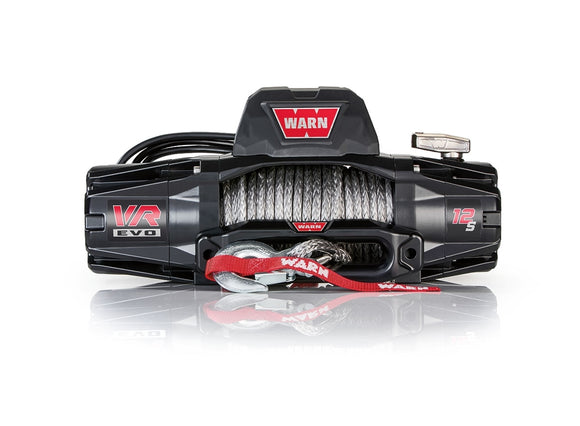 WARN VR EVO 12-S 12V Winch  - Synthetic Rope