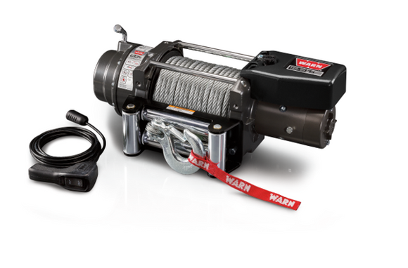 WARN 16.5TI 16.5k 12V 4x4 Winch  - Wire Rope