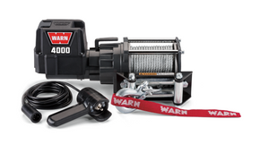 WARN 4000DC 12V Utility Winch 13.0M - Wire Rope