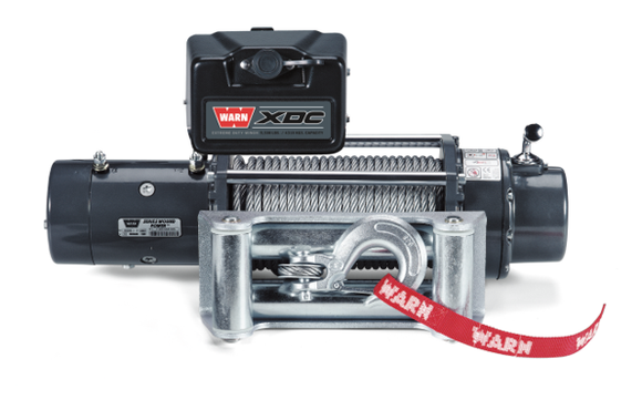 WARN XDC9500 9.5k 12V 4x4 Winch  - Wire Rope