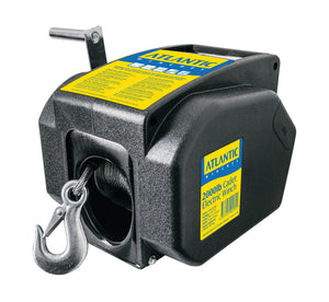 ATLANTIC Cadet CEW3000C 12V Boat Trailer Winch