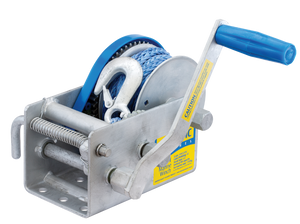 ATLANTIC Marine 1500kg MW209R Hand Winch - Rope