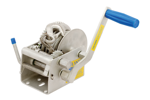 ATLANTIC Marine 1000kg MW220C  Hand Winch- Cable