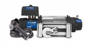 VRS V12500 12.5k 12V 4x4 Winch  - Wire Rope