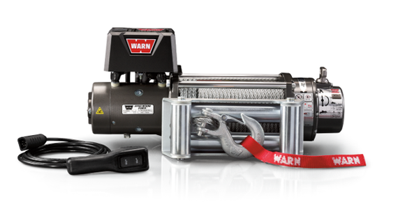 WARN XD9000 9k 12V 4x4 Winch  - Wire Rope