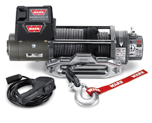 WARN XD9000-S 9k 12V 4x4 Winch  - Synthetic Rope