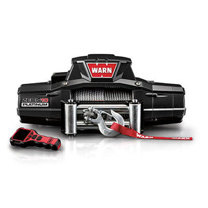 WARN  ZEON PLATINUM 10 12V Winch - Wire Rope