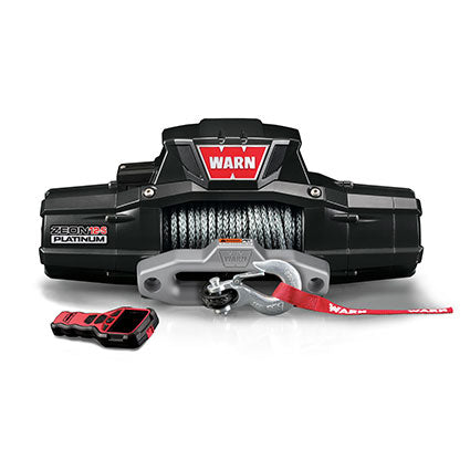 WARN  ZEON PLATINUM 12-S 12V Winch  - Synthetic Rope