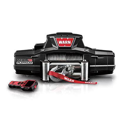 WARN  ZEON PLATINUM 12 12V Winch  - Wire Rope