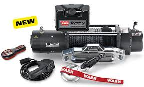WARN XDC9500-S 9.5k 12V 4x4 Winch  - Synthetic Rope