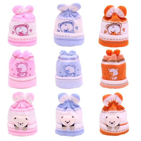 Baby Hat Kids Winter Hat Newborn Cap Hot Sale Super-Soft Cashmere Bonnet Headgear For Boys And Girls Baby Beanie Free Shipping