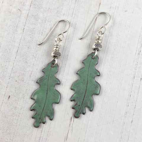 Autumn Oak Earrings Willow