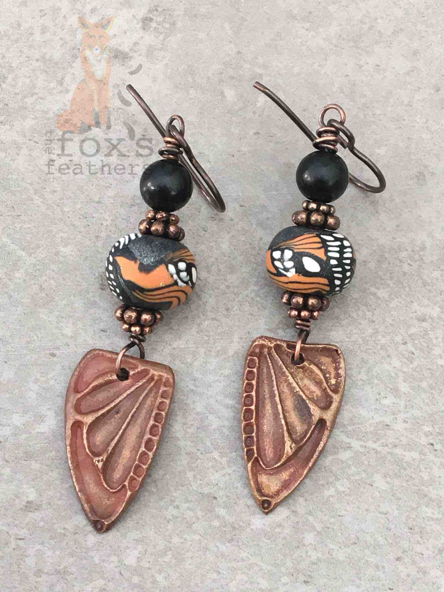 Wings Earrings Monarch