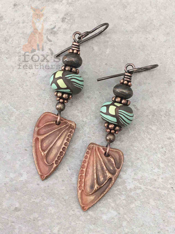 Wings Earrings Luna Moth