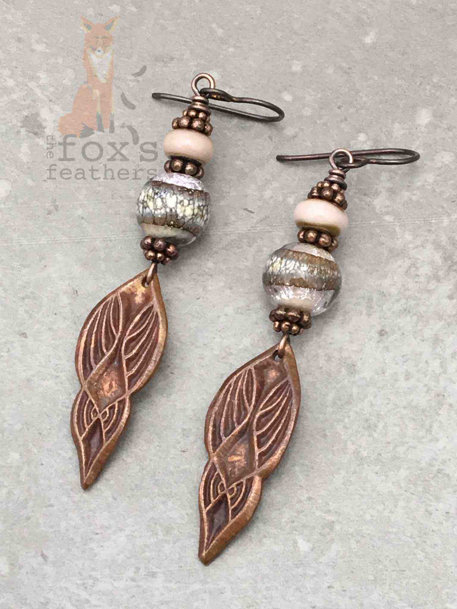 Goddess Earrings Blush