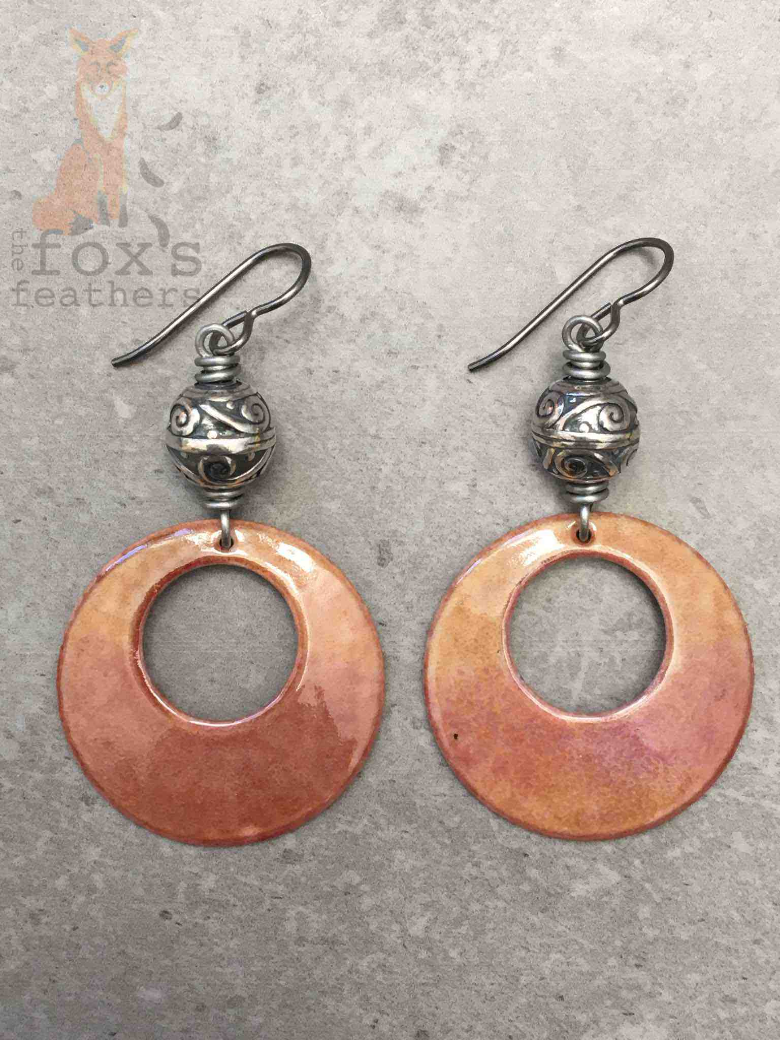 Hoops and Silver Earrings Fawn