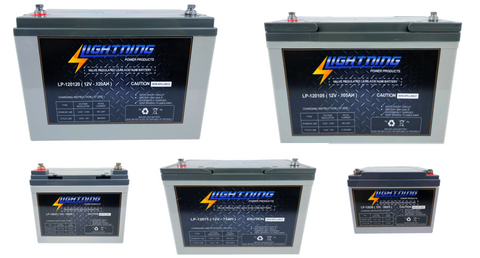 Lightning Deep Cycle Batteries