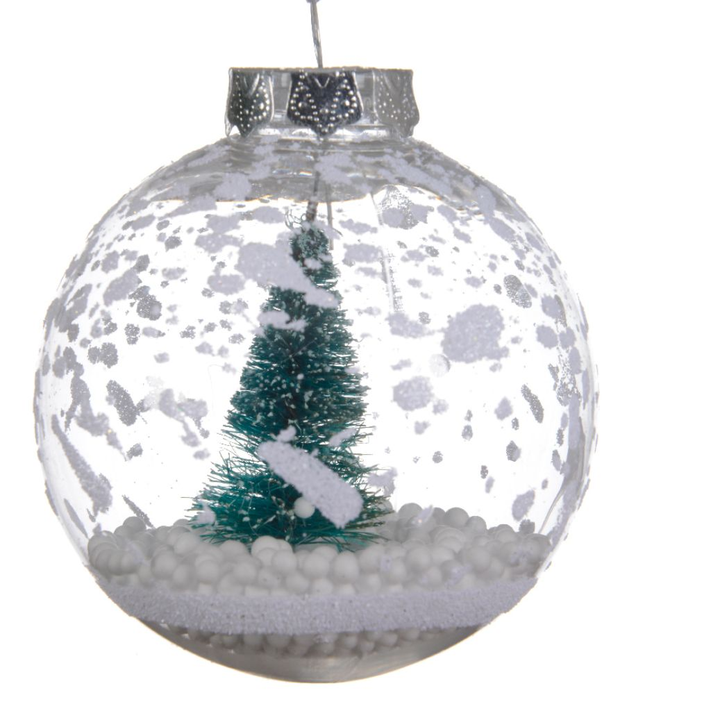 Christmas Tree and Snow Bauble