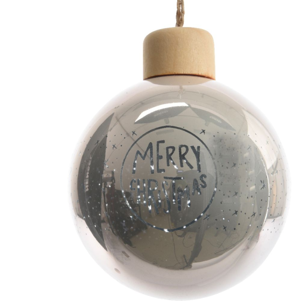 Merry Christmas Nude Bauble