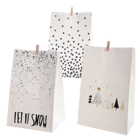 Christmas Peg Gift Bag