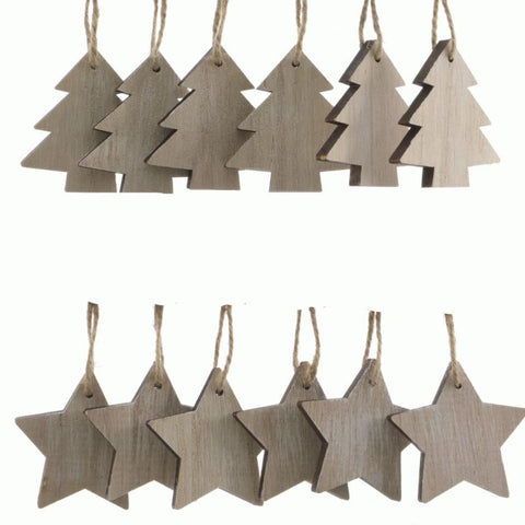 Small Wooden Christmas Decoration