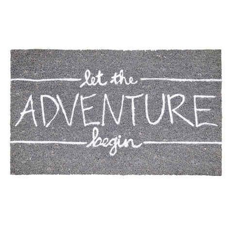 Let The Adventure Begin Doormat