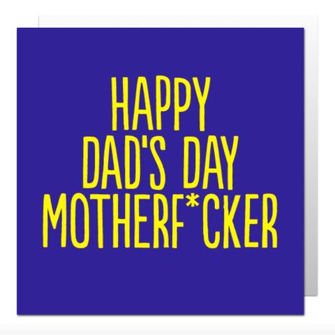 Happy Dad's Day Greetings Card