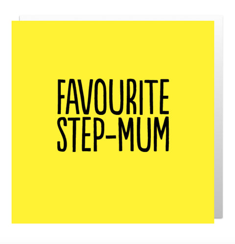 Favourite Step-Mum Greetings Card
