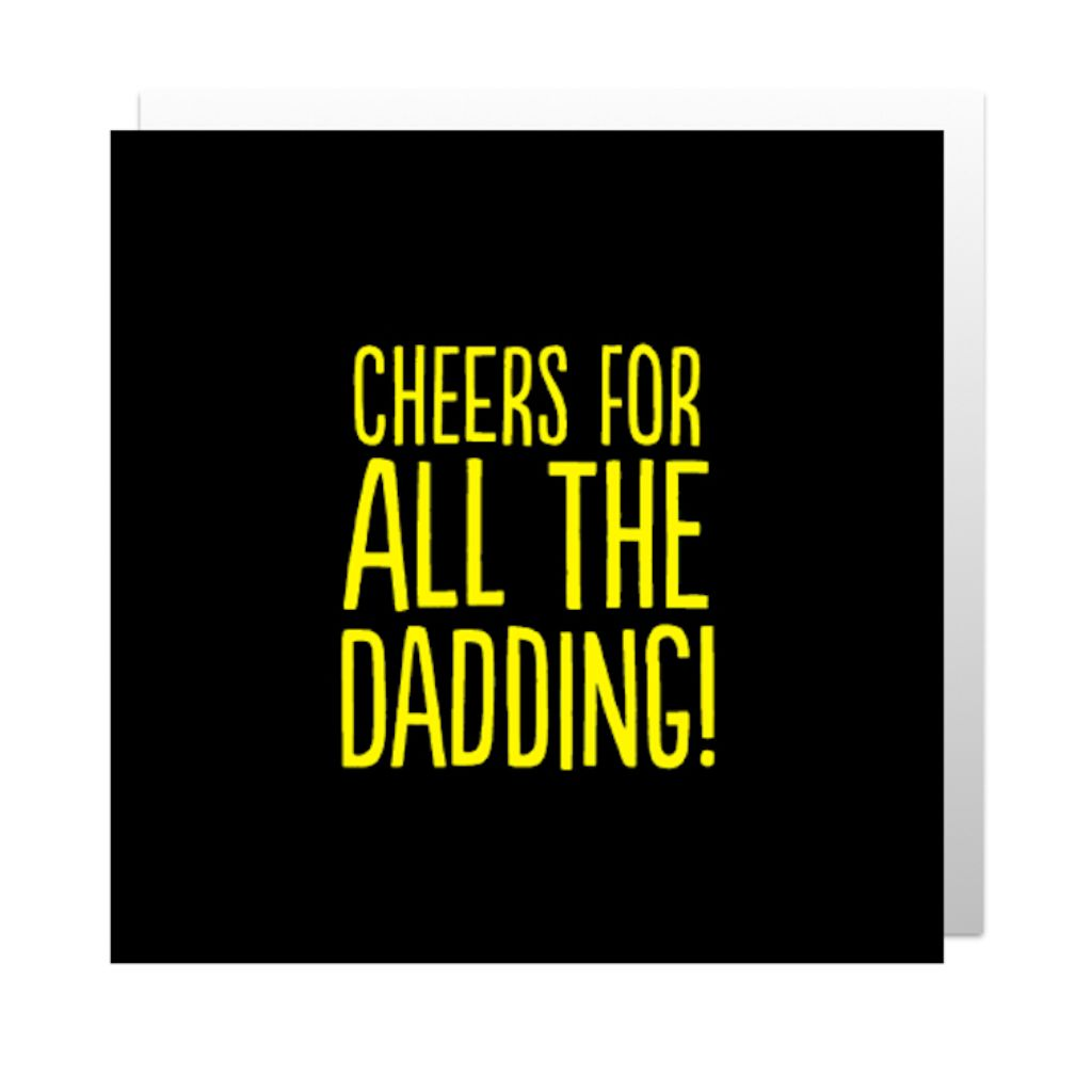 All The Dadding Greetings Card
