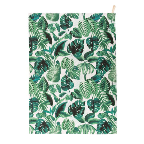 Jungle Leaf Tea Towel